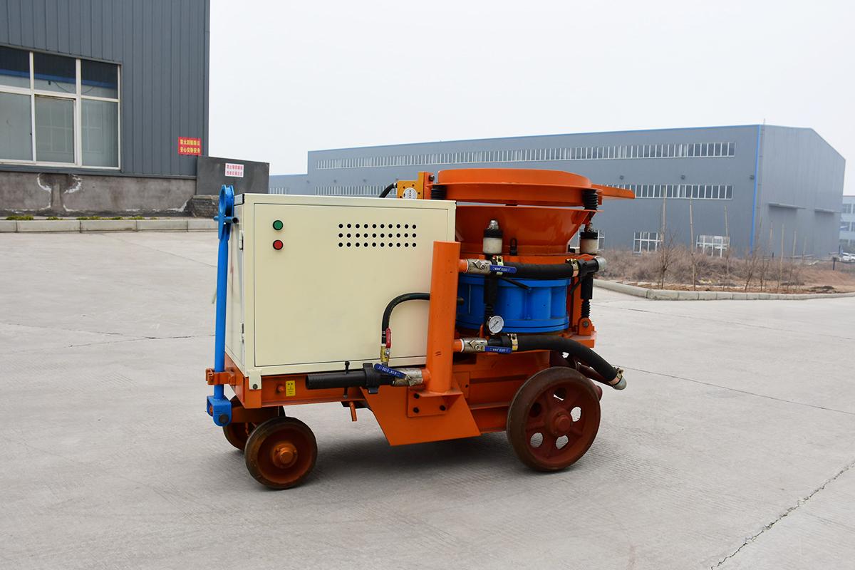 干式喷浆机和湿式喷浆机的区别
