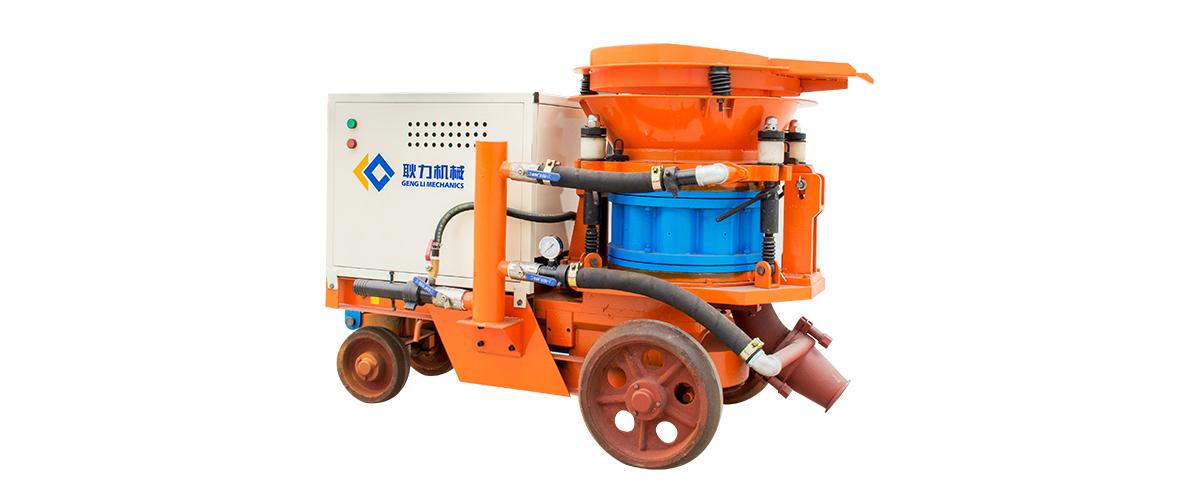 干式混凝土喷浆机工作原理