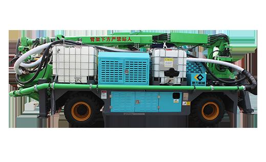 耿力GHP3015E工程混凝土湿喷台车