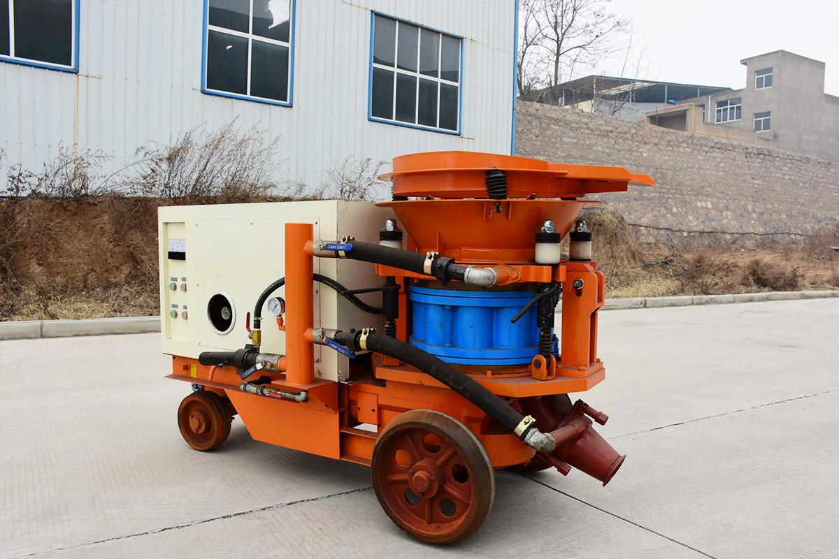 GHP环保混凝土喷射机