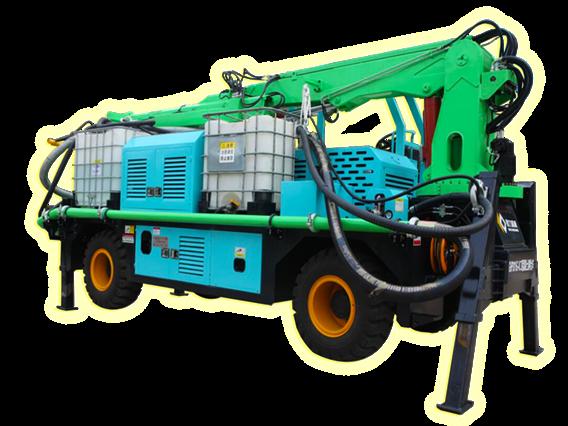 耿力GHP315D工程混凝土湿喷台车