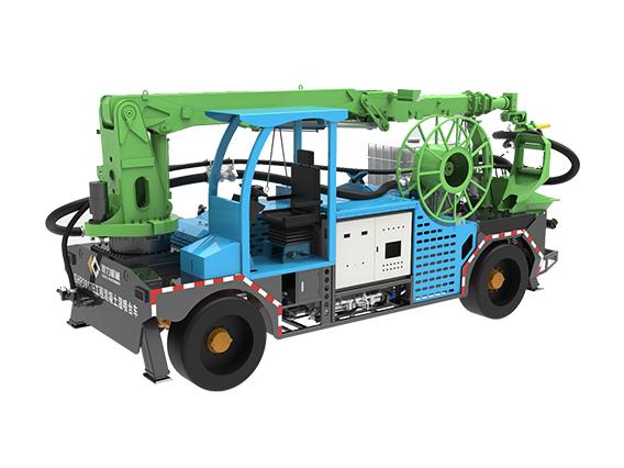 耿力GHP3017E工程混凝土湿喷台车
