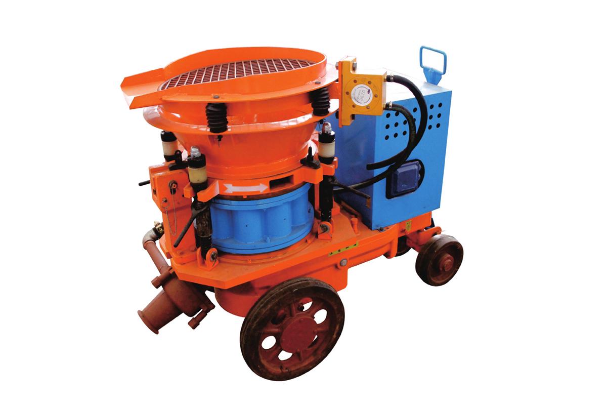 混凝土湿喷机与干喷机的不同——耿力机械